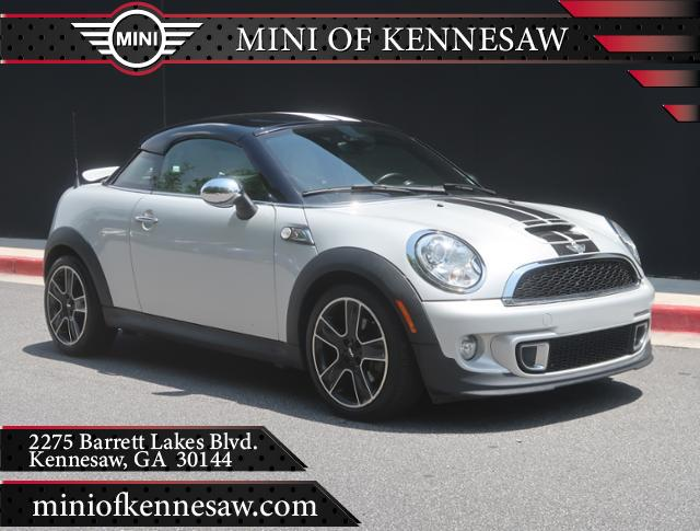 Pre Owned 2013 Mini Cooper Coupe S 2dr S In Kennesaw M8838a Mini