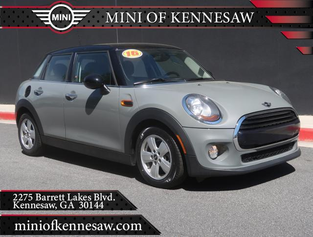 Pre Owned 2016 Mini Cooper Hardtop 4 Door 4dr Hb In Kennesaw Mp2783