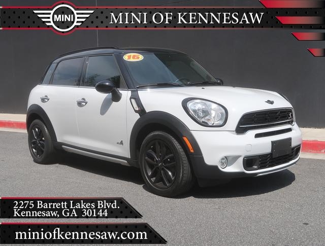 Pre Owned 2016 Mini Cooper Countryman S All4 4dr S In Kennesaw