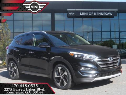 Pre-Owned 2017 Hyundai Tucson Limited Front Wheel Drive SUV