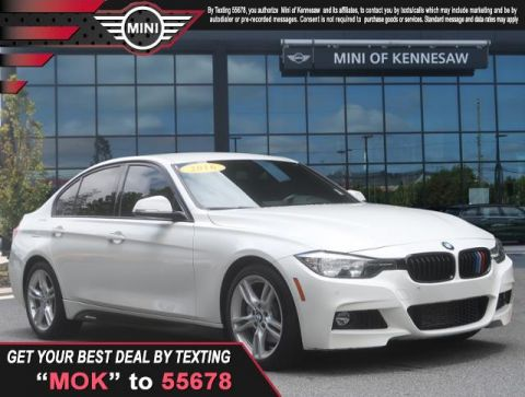 Pre-Owned 2016 BMW 3 Series 328i Rear Wheel Drive Sedan