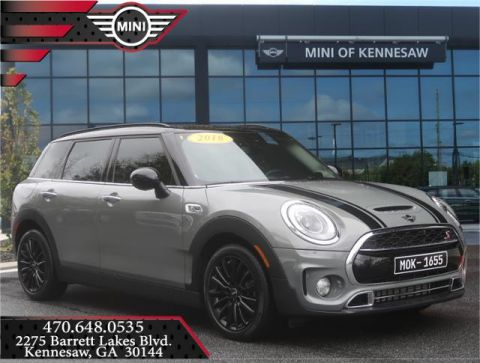 Certified Pre-Owned 2019 MINI Clubman Cooper S Front Wheel Drive Sedan