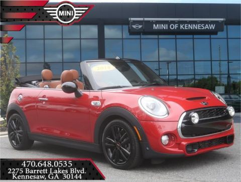 Pre-Owned 2018 MINI Convertible Cooper S Front Wheel Drive Convertible