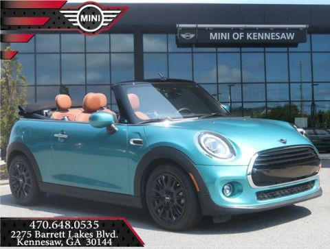 New 2020 MINI Convertible Cooper Front Wheel Drive Convertible