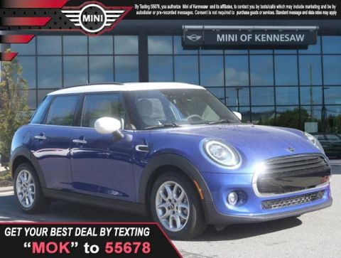 New 2020 MINI Hardtop 4 Door Cooper Front Wheel Drive Sedan